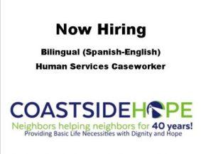Now Hiring Bilingual Human ServicesCaseworker