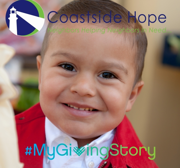 Coastside Hope My Giving Story Logo
