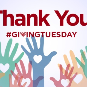 #GivingTuesday Thank You!